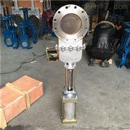 氣動不銹鋼暗桿刀閘閥DMZ673W