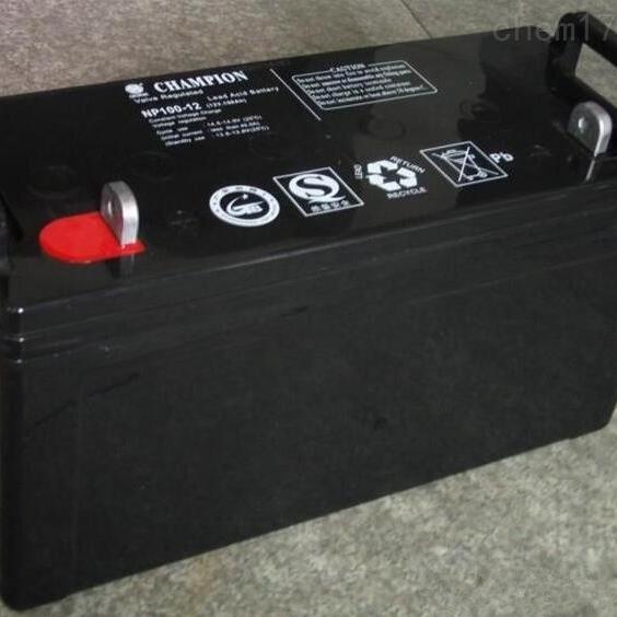 冠军蓄电池NP100-12全新正品