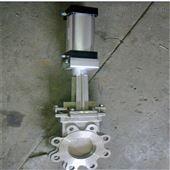 PZ673F-10P气动不锈钢刀闸阀厂家
