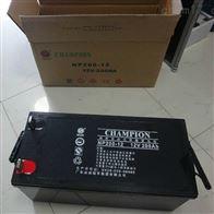 12V200AH冠军蓄电池NP200-12供应商