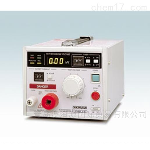 日本KIKUSUI鞠水AC/DC耐压测量仪TOS8030