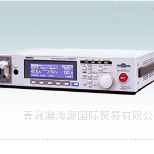 日本KIKUSUI鞠水泄漏电流测试仪TOS6200A