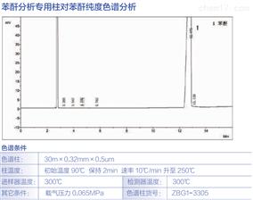 苯酐分析柱对苯酐纯度色谱分析