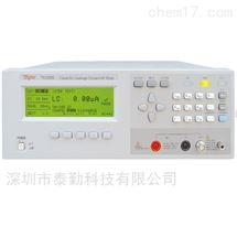 TH2689Tonghui同惠电容器漏电流/绝缘电阻测试仪