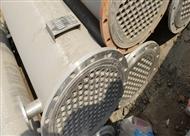 二手50平方不銹鋼列管冷凝器的安裝流程