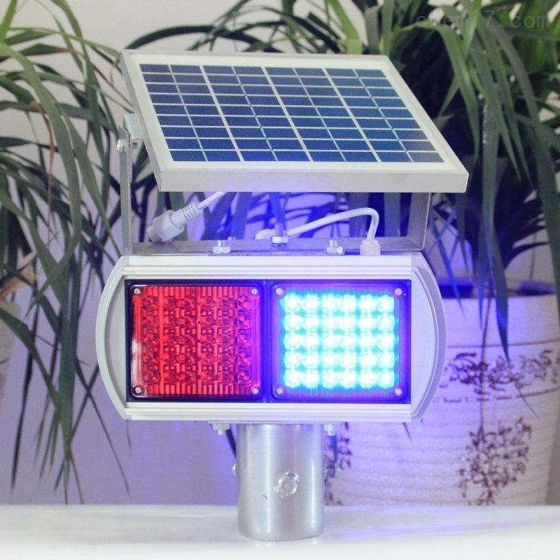 太阳能道路爆闪灯  维修安全双面警示灯