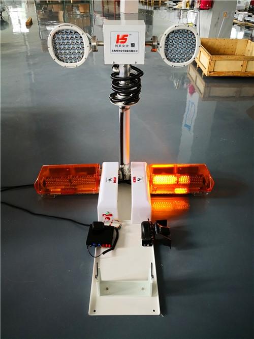 移动升降照明灯特种车辆安装车载升降照明设备