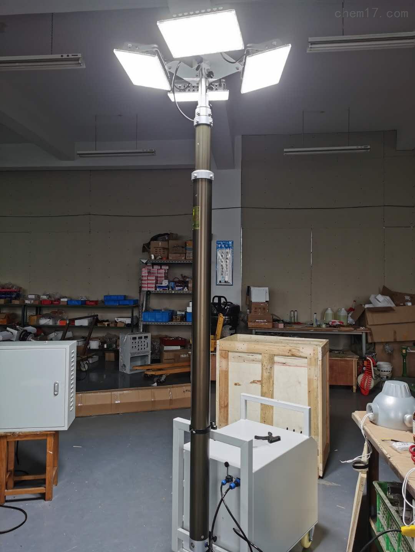 发电升降泛光灯现货供应安装自动升降泛光灯