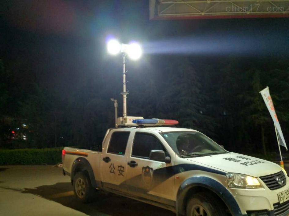 车载升降照明灯户外应急直流充电应急升降照明灯