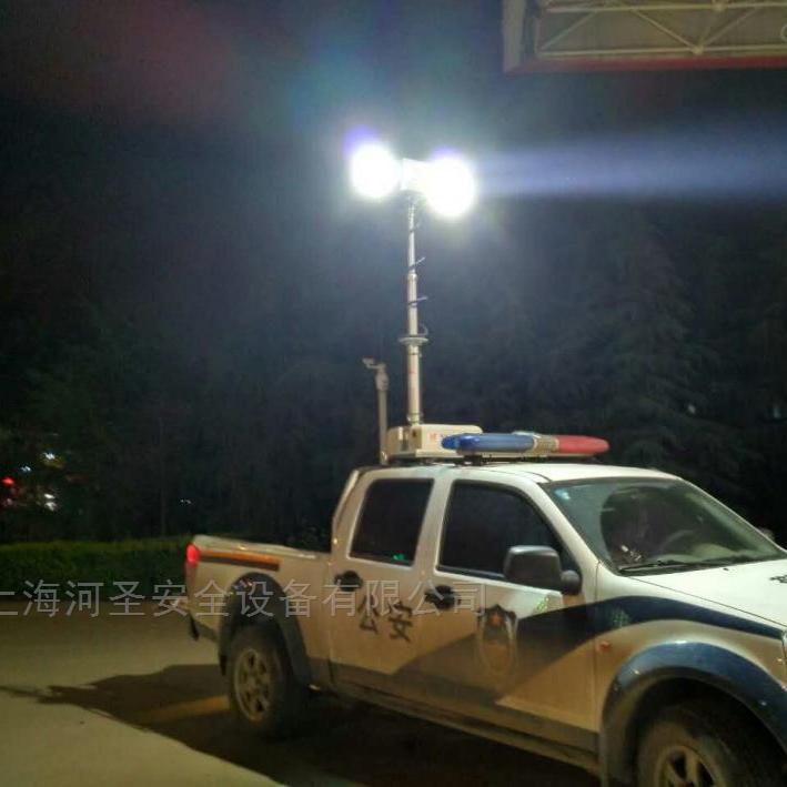 河圣牌 气压式车载照明设备 移动升降照明