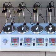 HJ-6B數顯恒溫測速磁力加熱攪拌器(6頭)