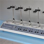 六工位磁力加热搅拌器