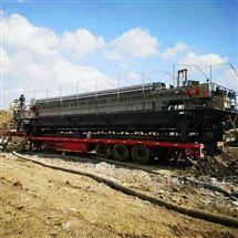 车载式建筑打桩泥浆处理压缩机干泥饼出清水