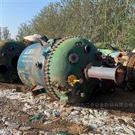 二手江苏扬阳5吨搪瓷反应釜