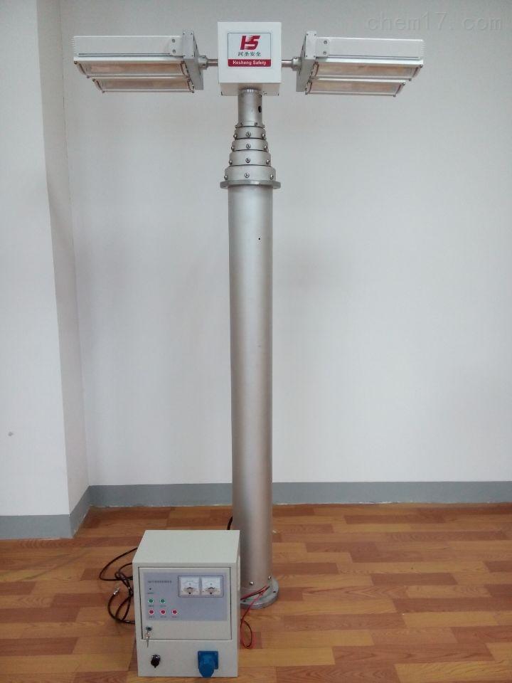 2.5米照明系统 消防救援升降灯 360度旋转灯 光源配件