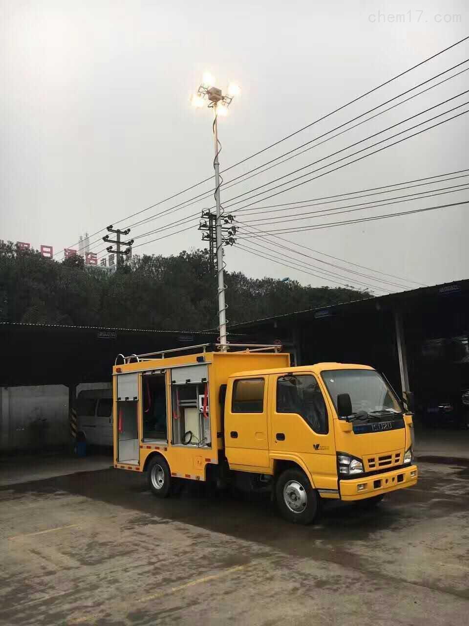 河圣牌 车载升降照明设施 车载移动照明灯 定制服务