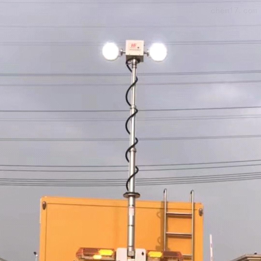 车载消防应急灯 移动升降照明设备