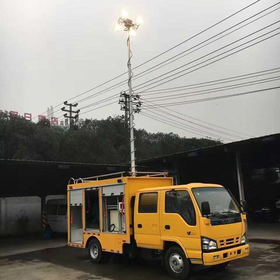 河圣安全 消防车升降照明灯 4000W照明