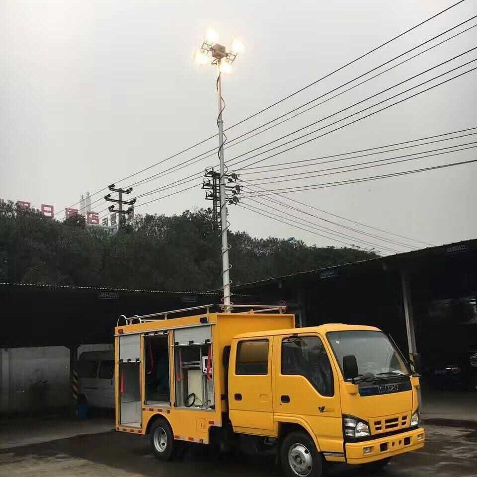 移动消防应急装置 便携式升降设备 河圣