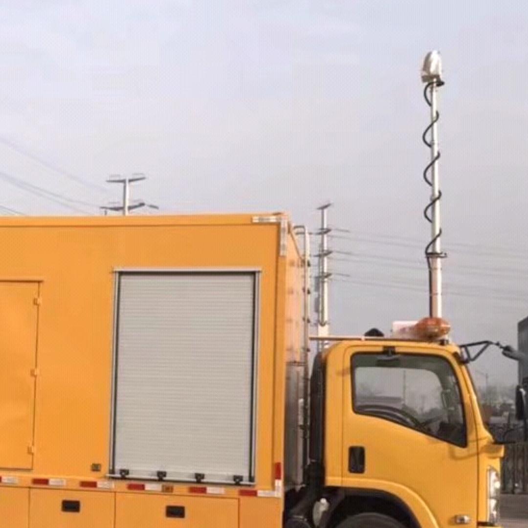 河圣移动升降照明系统 车顶升降探照设备