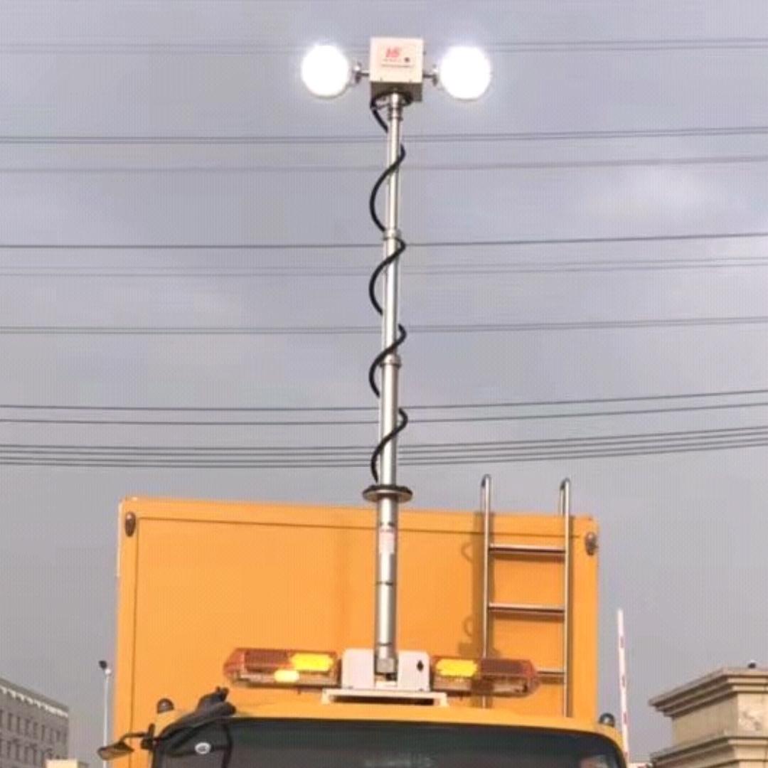 车顶升降照明灯 移动升降探照灯河圣品牌
