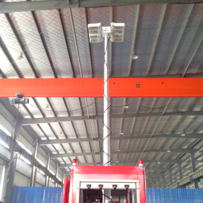 车顶消防应急装置 移动升降探照设备河圣牌