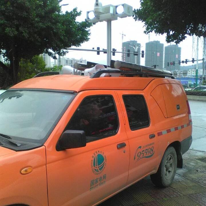 车顶升降照明装置 河圣牌升降灯 应急设备