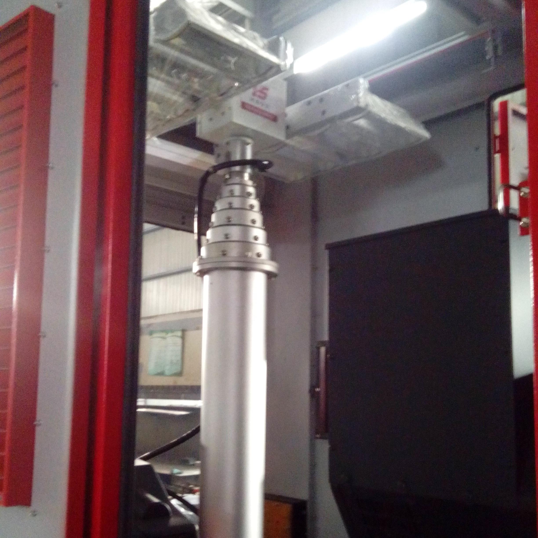 8kgw投光灯 车顶移动升降杆 360度旋转灯