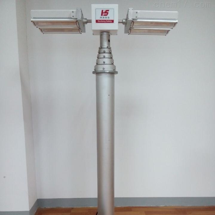 河圣牌 气动升降杆照明装置 大功率泛光灯
