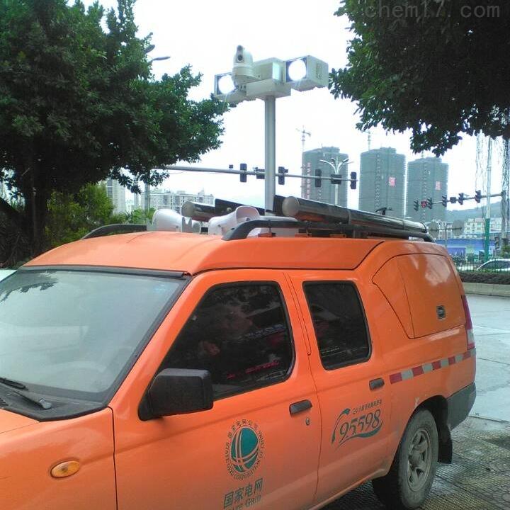 车顶升降照明系统 河圣牌移动升降探照设备