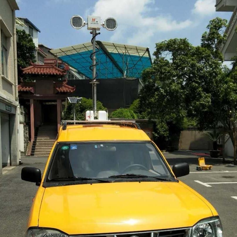 车载移动照明设备车顶升降照明河圣牌