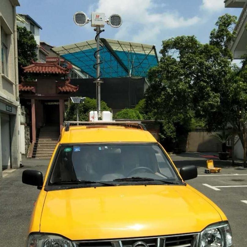 车顶升降探照灯 河圣牌升降设备 移动升降灯