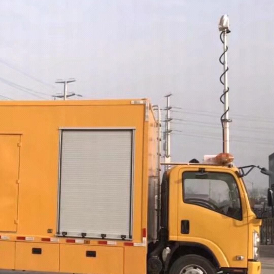 上海河圣 气压式车载照明设备 应急升降灯
