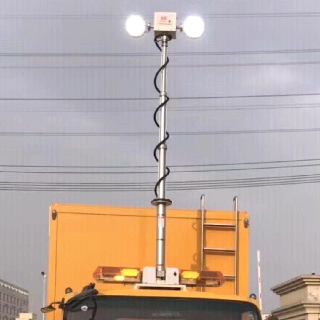 移动升降照明设备 车顶升降探照设备 河圣牌