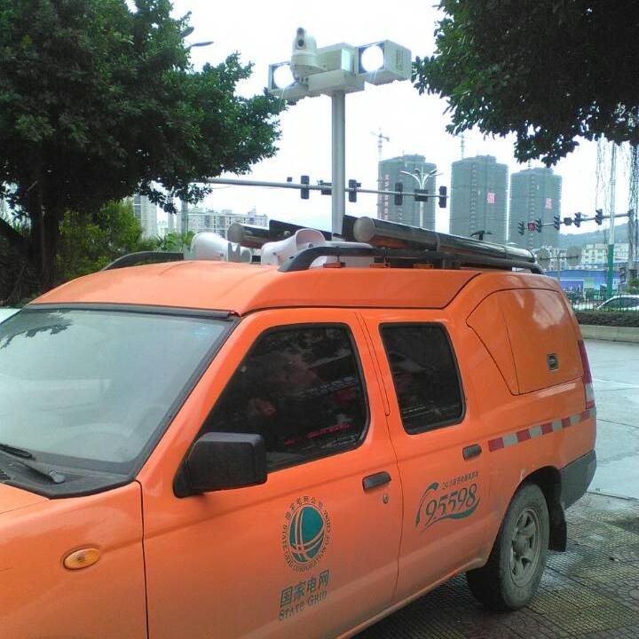 上海河圣 气动式升降灯 大功率泛光灯