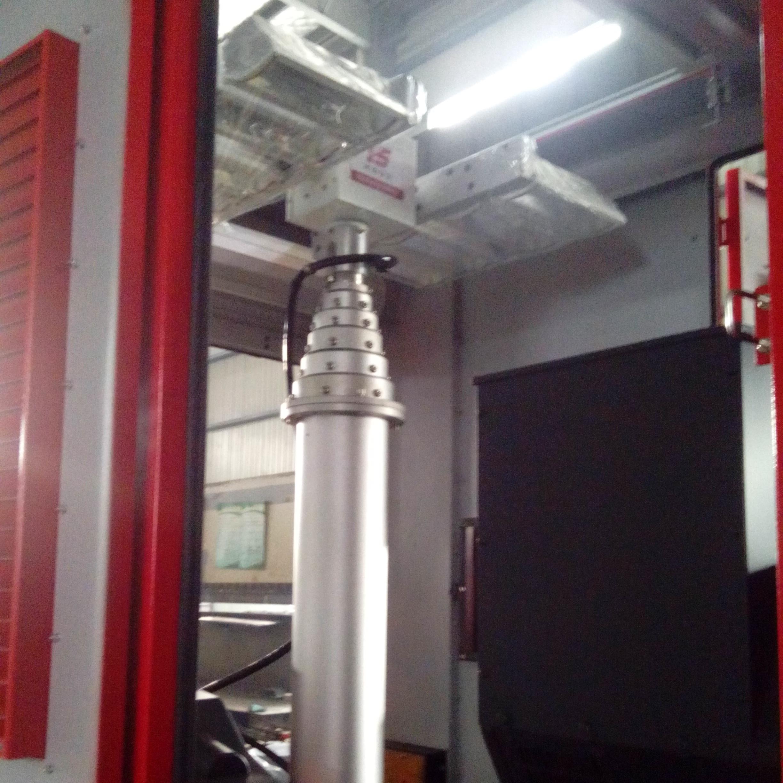 河圣安全 气动升降杆照明装置 应急移动照明