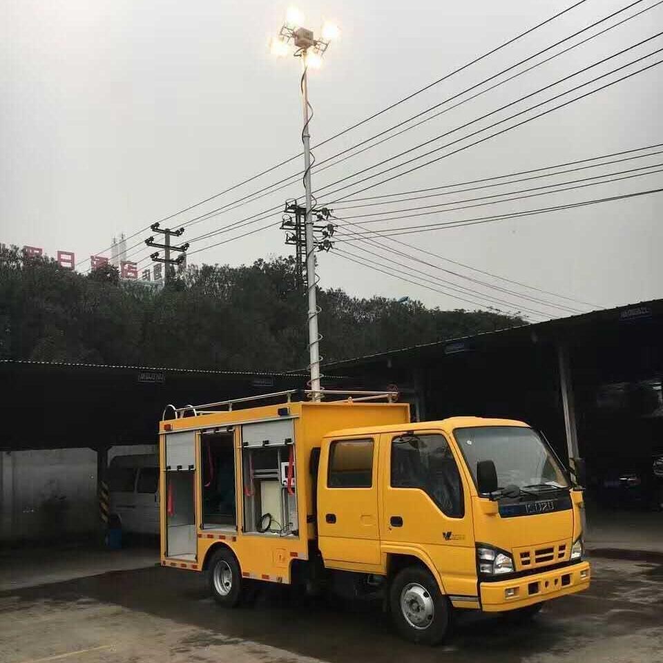 河圣牌 电源车升降照明灯 车载照明设备
