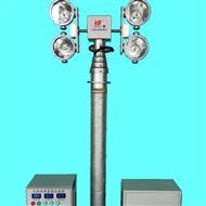 河圣安全 气动式升降灯 8灯头照明灯