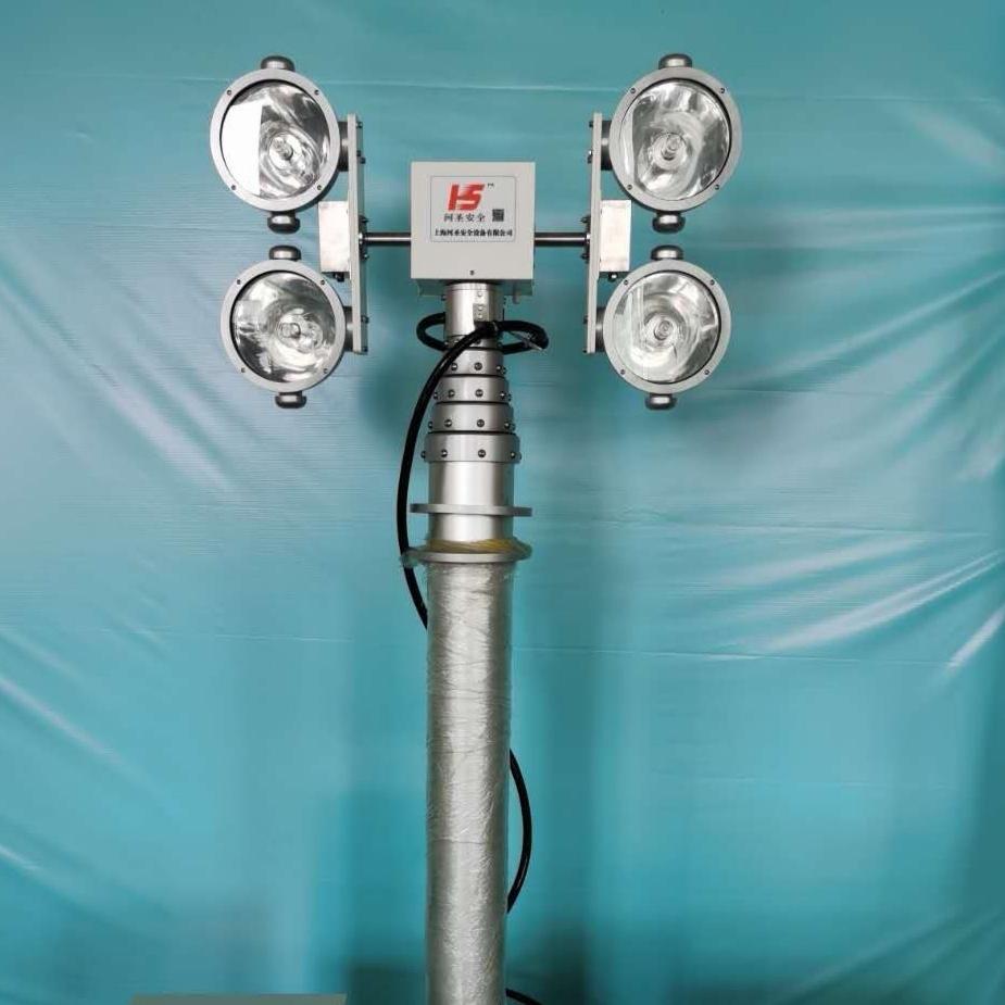 河圣安全 车载升降照明设施 大功率探照灯
