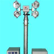 排涝车应急照明设备 应急升降探照灯