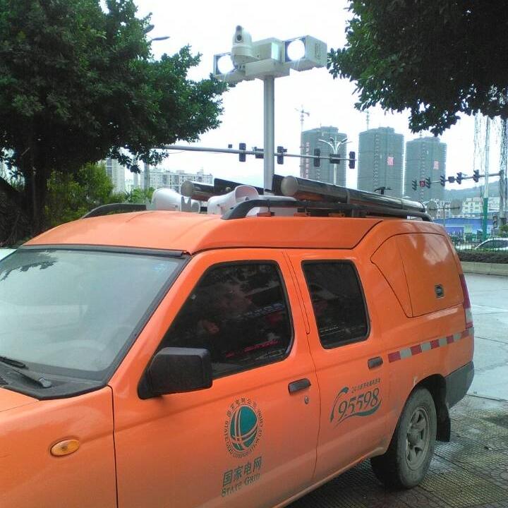 上海河圣 指挥车升降照明灯 应急升降设备
