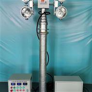 使用移动升降照明灯 便携式升降应急设备