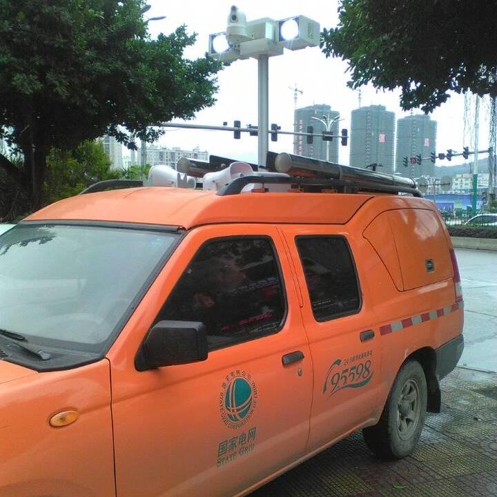 上海河圣 直臂式照明灯 3000W应急灯