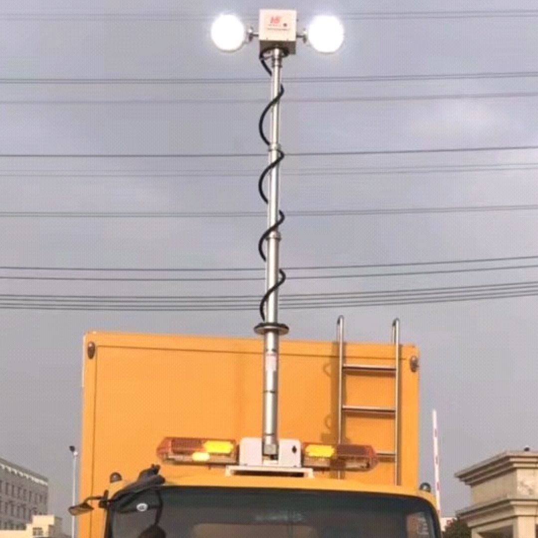 天津车顶升降照明灯 车顶应急探照灯 河圣牌