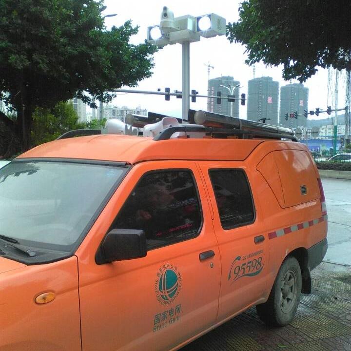 车载消防照明设备-升降探照灯-河圣牌