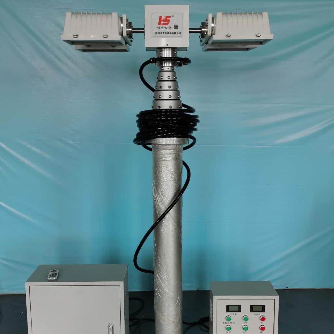 移动式升降照明设备 大功率照明灯 售后维护
