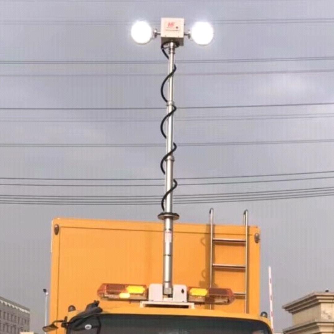 直立式升降探照灯,河圣安全 车顶升降灯
