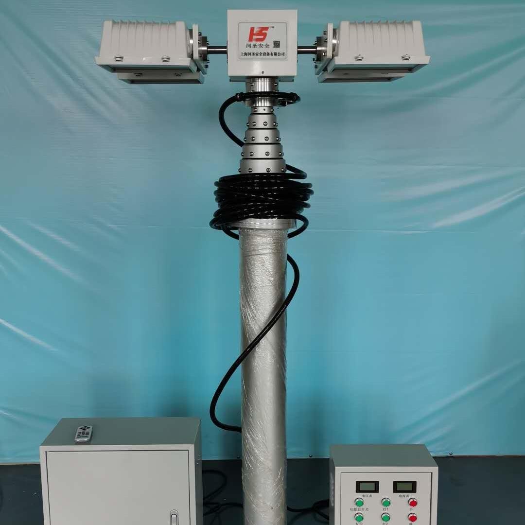 气动升降照明杆3米4米5米6米消防车载监控