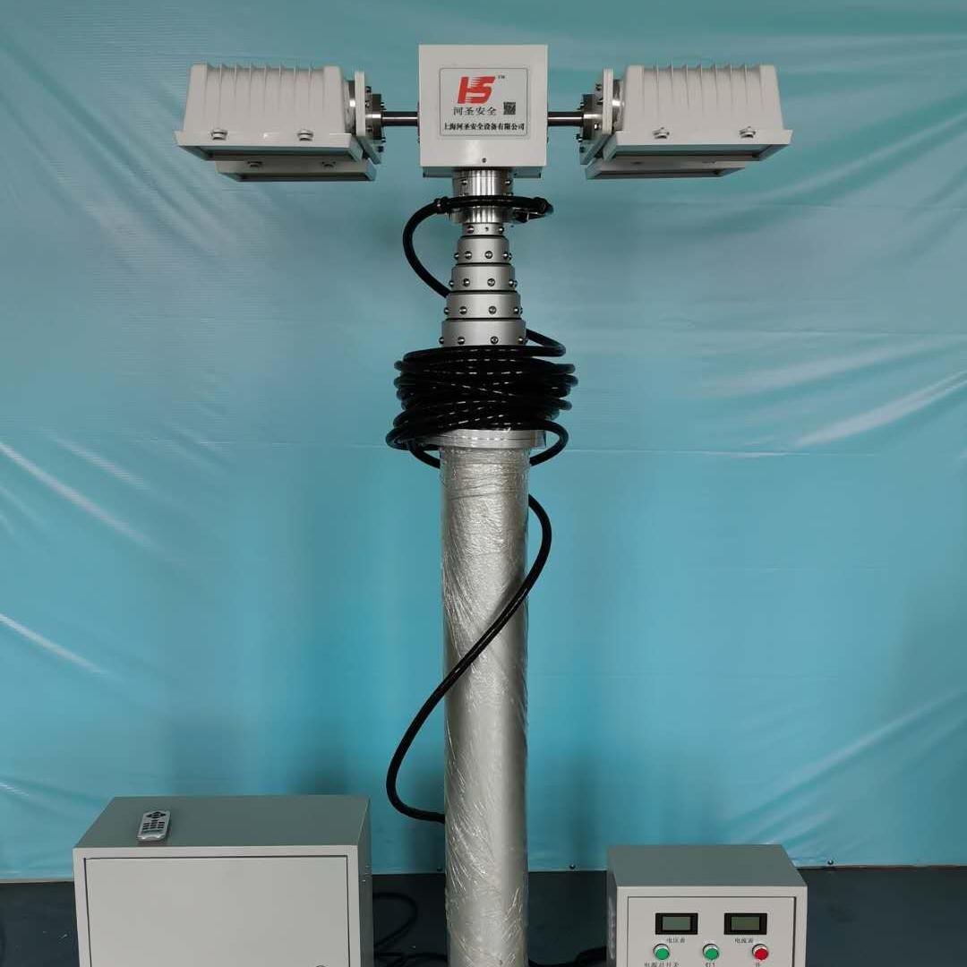 充电应急照明灯、气动升降照明系统