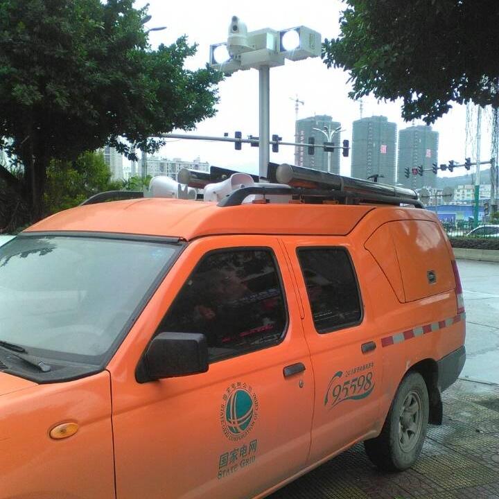 车顶移动照明设备、移动升降探照灯、河圣牌
